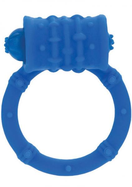 Silicone Vibro Ring - Blue