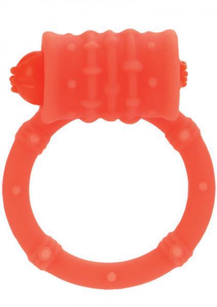 Posh Silicone Vibro Cock Ring Orange