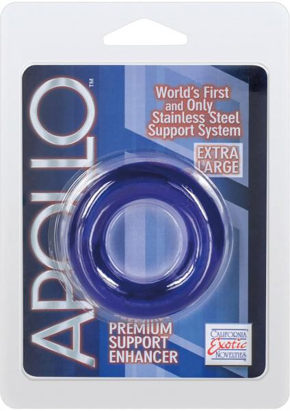 "Apollo Premium Enhancers XL - 2.25"" Ring - Blue"
