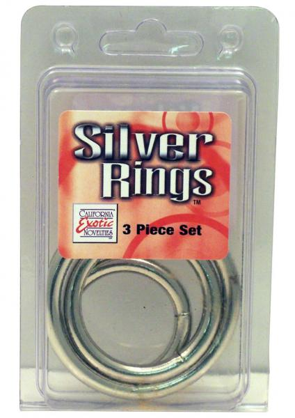 Silver O Ring - 3 pc Set