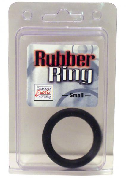 Rubber Cock Ring Small 1.75 Inch Diameter Black