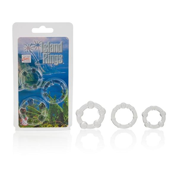 Island Rings -Clear