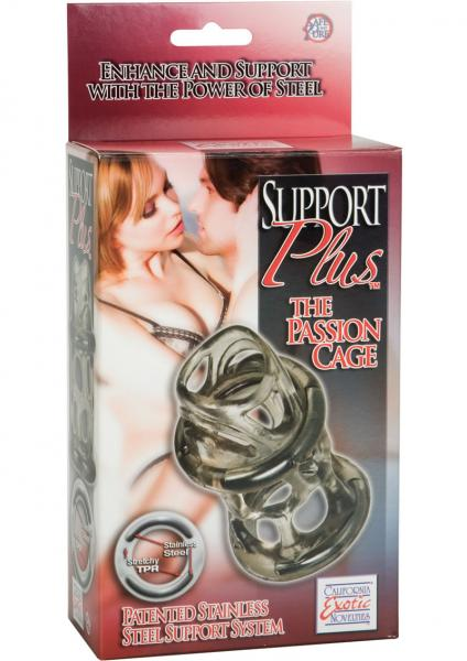 Support Plus Passion Cage 3 Inch - Smoke