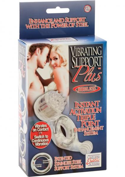 Support Plus Vibrating Intasnt Activation Triple point Enhancement System