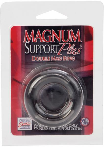 Magnum Support Plus Double Mag Cock Ring Smoke