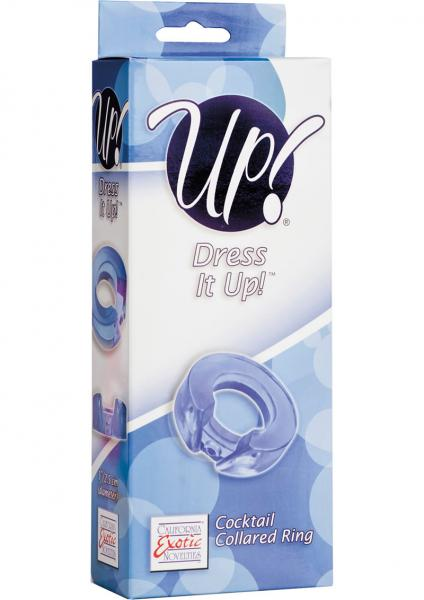 Up Dress It Up Cocktail Cuff Ring Cockring Blue