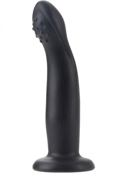 Silicone G-Caress Probe - Black
