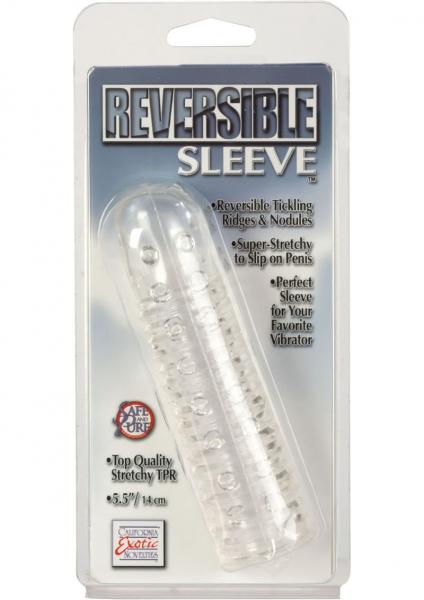 Reversible Sleeve 5.5 inch - Clear