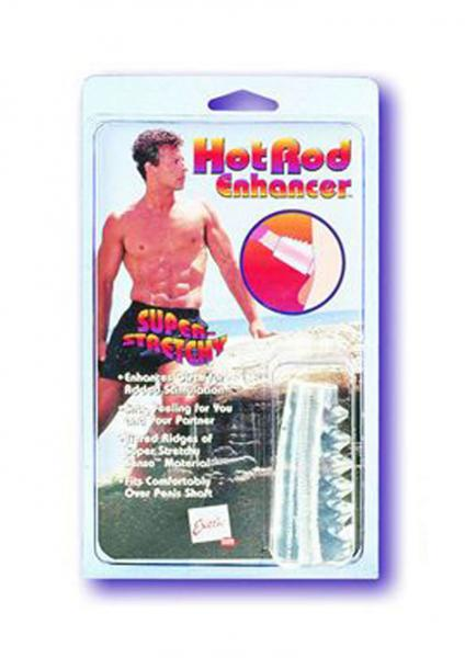 Hot Rod Enhancer 3 inch - Clear