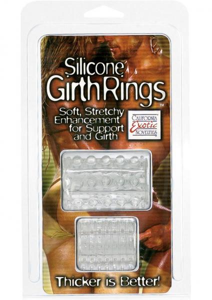 Girth Rings Clear or Smoke