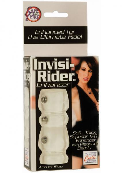 Invisi Rider Enhancer With Pleasure Beads