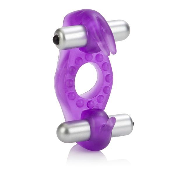 Wireless Rockin Rabbit Vibrating Ring Purple