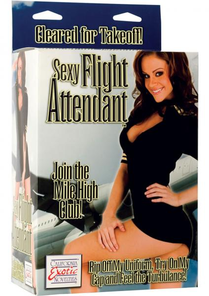 Sexy Flight Attendant Love Doll With Removable Outfit