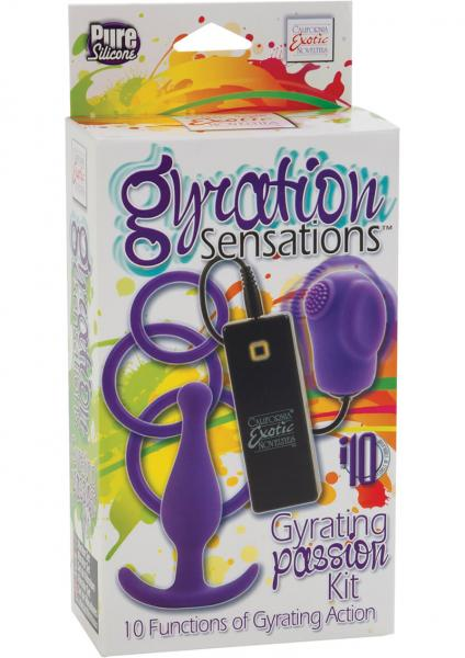 Gyrating Pleasure Kit - Purple