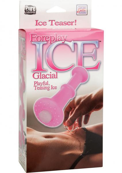 Foreplay Ice Glacial Massager Waterproof 2.5 Inch Pink