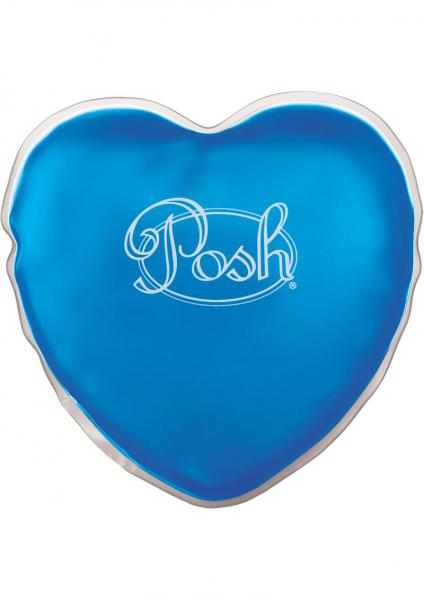 Posh Warm Heart Massager Gel Pack Blue