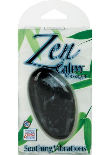 Zen Calm Massager 3.75 Inch Multispeed - Black