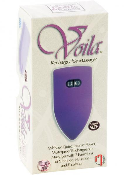 Voila Rechargeable Massager 3 Inch 7 Function Waterproof