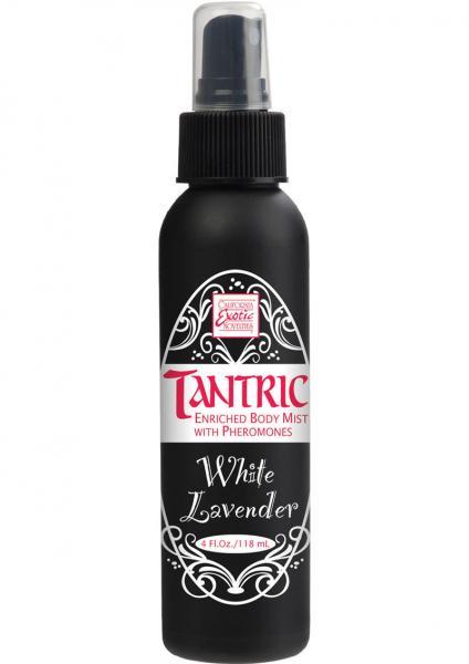 Tantric Enriched Body Mist Pheromones White Lavender 4oz