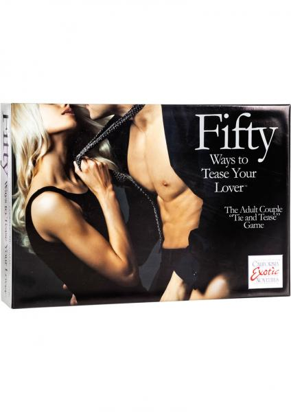 Fifty Ways To Tease Your Lover Tie And Tease Game