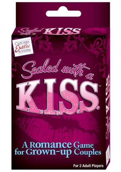 Sealed With A Kiss A Romance Game for Grown Up Couples