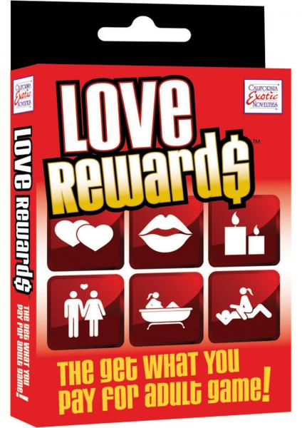Love Rewards The Get What You Pay For Adult Game