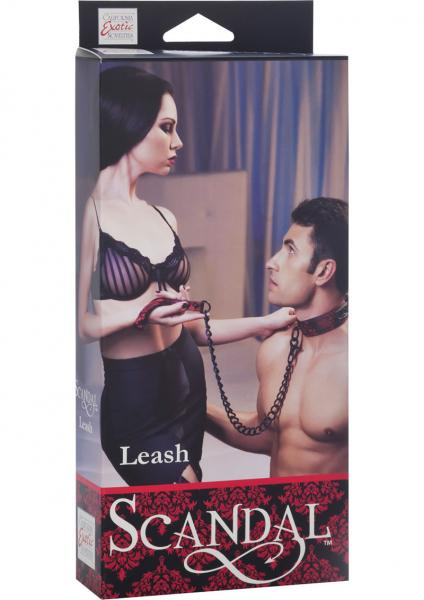 Scandal Leash Red/Black