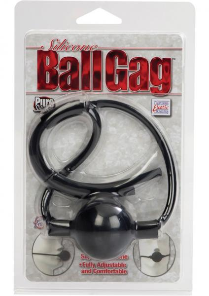 Silicone Ball Gag Black