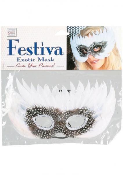 Festiva Exotic Mask Purple White