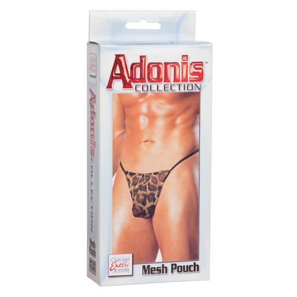 Adonis Mesh Pouch - Leopard