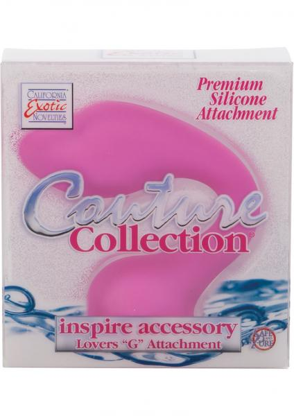 Couture Collection Inspire Accessory Lovers G Silicone Attachment Pink