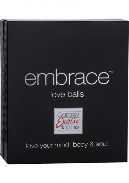 Embrace Love Balls Silicone Dual Motor Kegel Exerciser Waterproof Grey