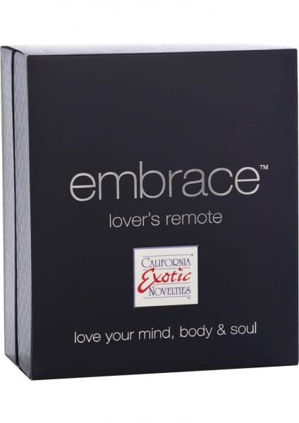 Embrace Lovers Remote Silicone Massager Waterproof Purple