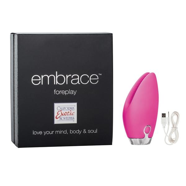 Embrace Foreplay Pink Tickler Vibrator
