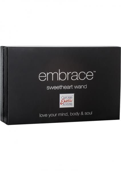 Embrace Sweetheart Wand Silicone Triple Vibe Waterproof Grey
