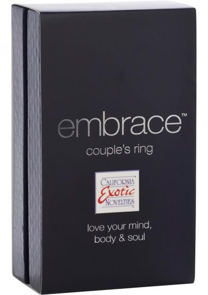Embrace Couples Ring Silicone Cockring Waterproof Grey