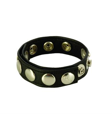 8 Snap Fastner Leather C Ring