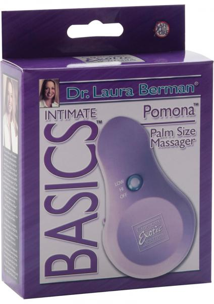 Berman Center Intimate Accessories Pomona Palm Size Massager Lavender Box