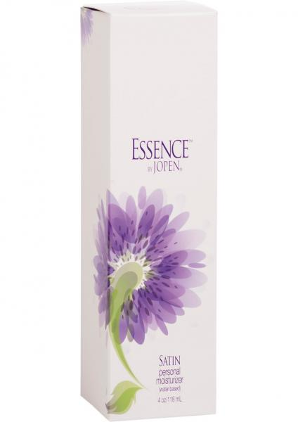 Essence Satin Personal Moisturizer Water Based 4 Ounce