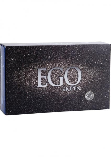 Ego E5 Silicone G Spot Vibrator Waterproof Blue