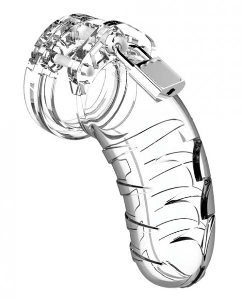 Mancage Chastity 4.5 inches Cock Cage Model 4 Clear