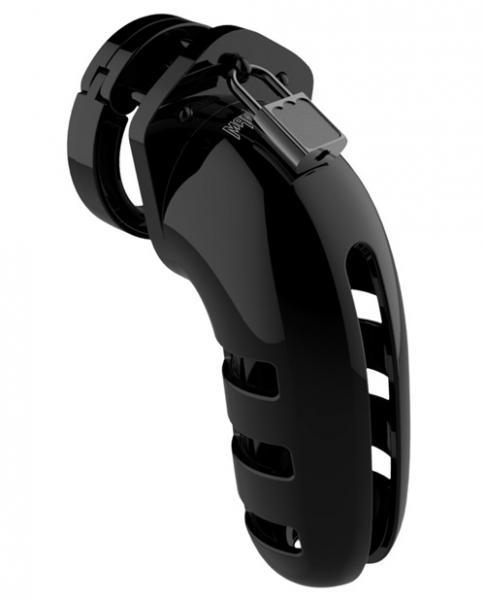 Mancage Chastity 5.5 inches Cock Cage Model 6 Black