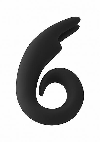 Mjuze The Lithe Black Bunny Vibrator