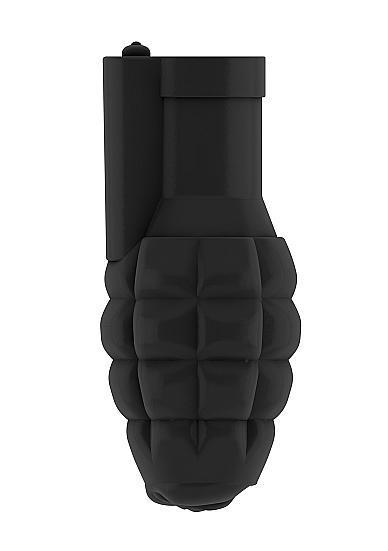 Sono No 22 Stroker Grenade With Vibrating Bullet Black