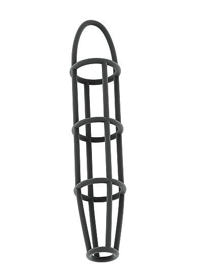 Sono No 30 Cock Cage With Ball Strap Gray