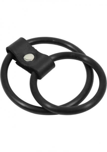 Nitrile Dual C Ring - Black