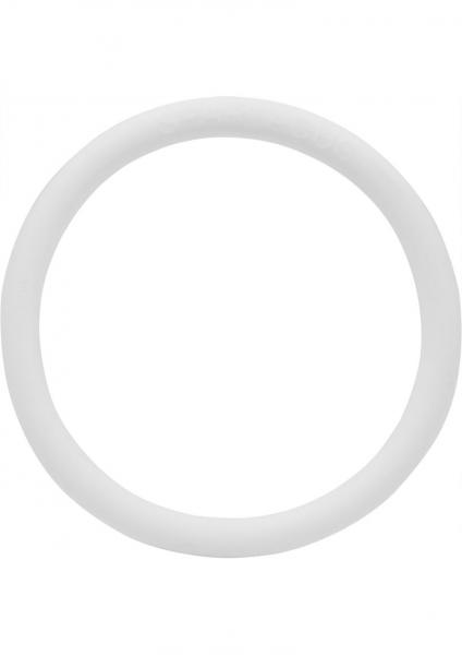 Rubber 2 inch C Ring - White
