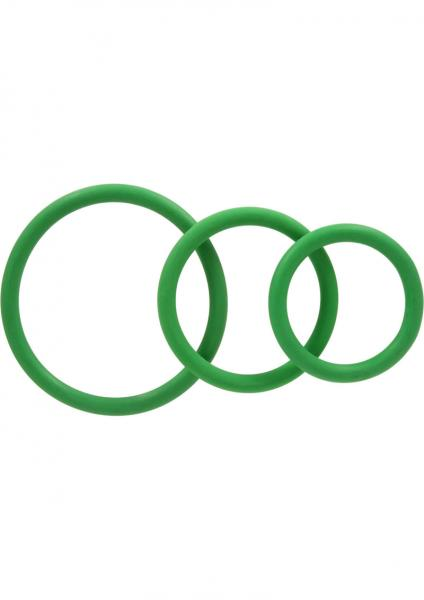 Rubber C Ring Set - Green
