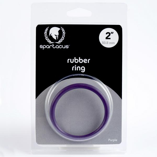 Rubber C Ring 2 Inch - Purple