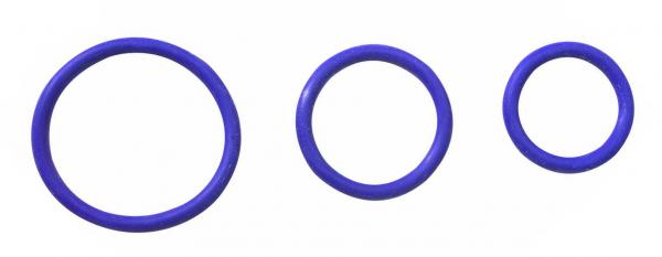 Rubber C Ring Set - Purple